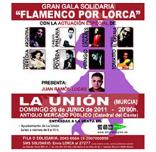 Cartel Flamenco por Lorca
