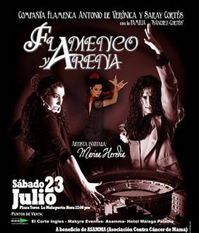 Cartel Flamenco y Arena